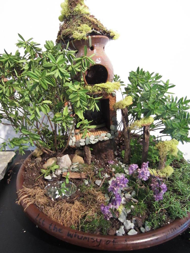 Pin Fairy House 2 On Pinterest